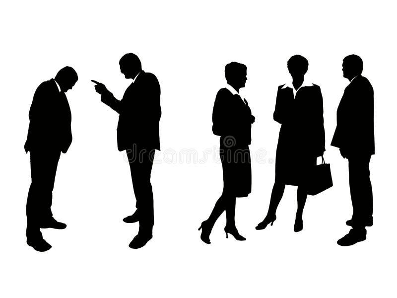 biznes drużyna ilustracja wektor