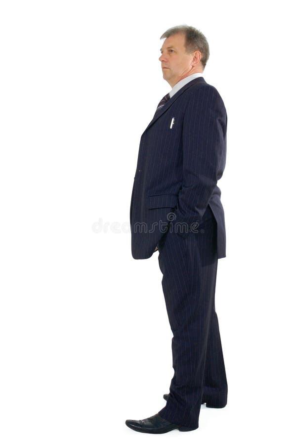 biznes folujący długości mężczyzna zdjęcie stock
