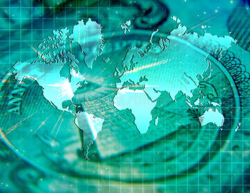 biznes globalny royalty ilustracja