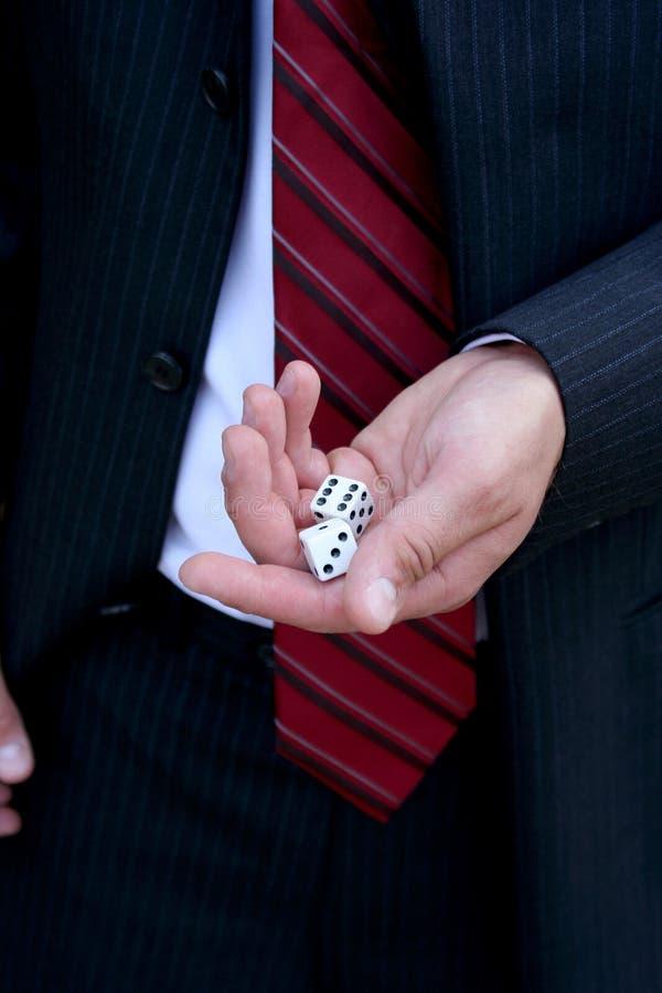 biznes hazardu obraz stock