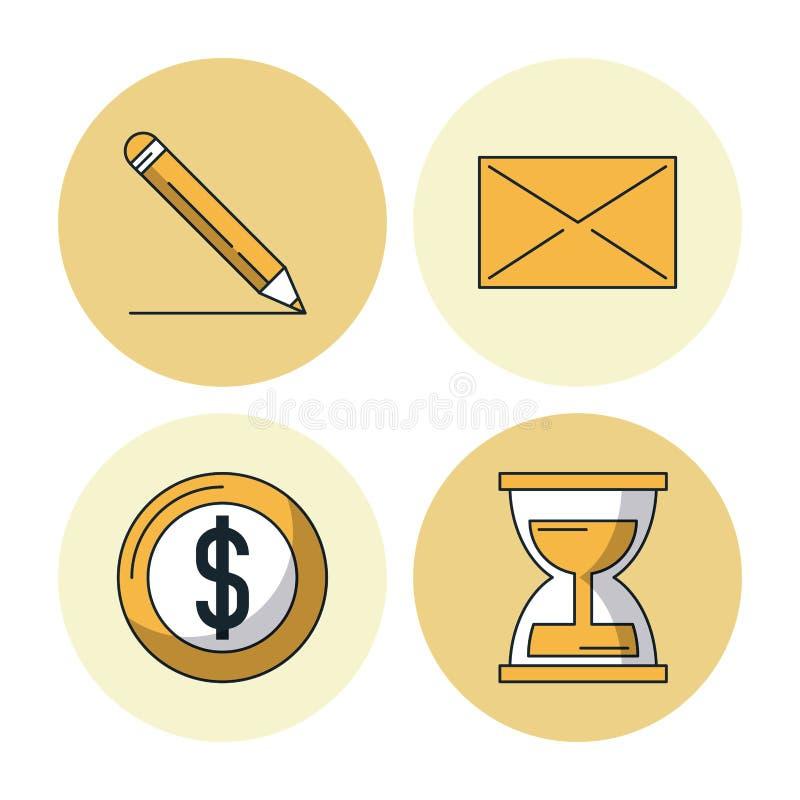 Biznes i przedsiębiorczość ilustracji