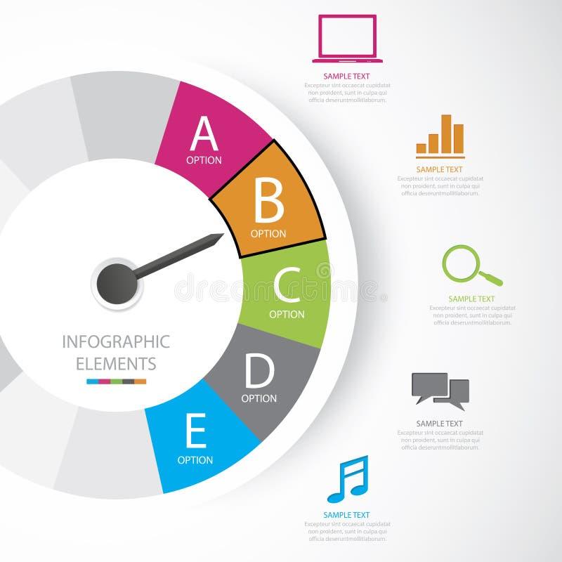Biznes infographic royalty ilustracja