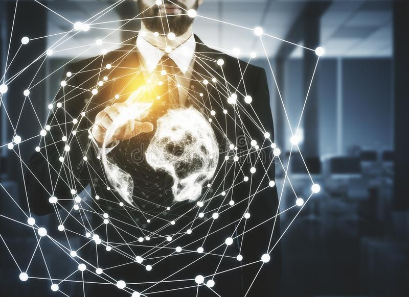 biznes koncepcję globalnego obraz stock