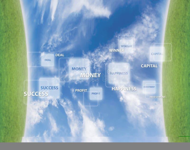 biznes koncepcji sukces royalty ilustracja