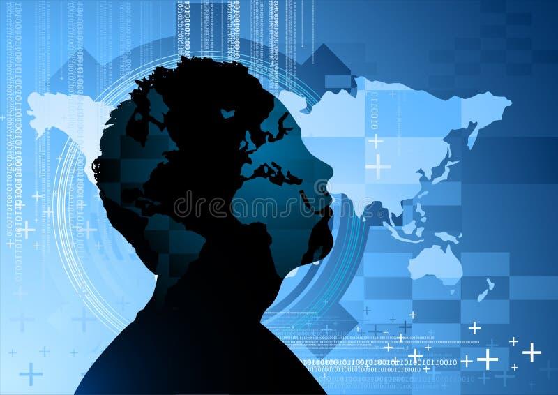 biznes koncepcji umysł royalty ilustracja