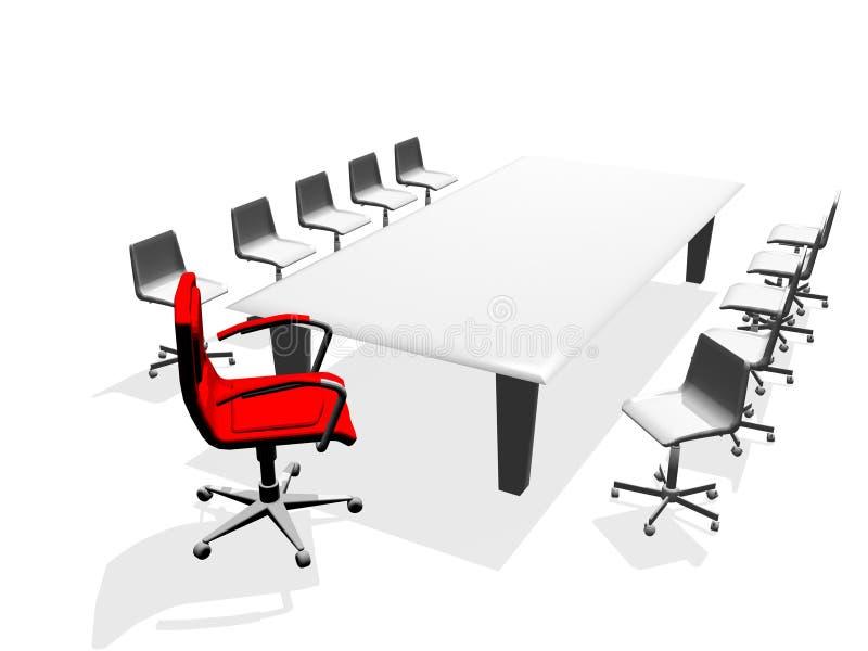 biznes krzesło royalty ilustracja