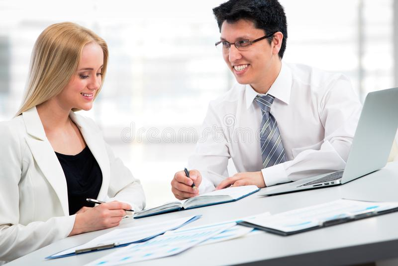 biznes ma biurowych spotkań ludzi obrazy royalty free
