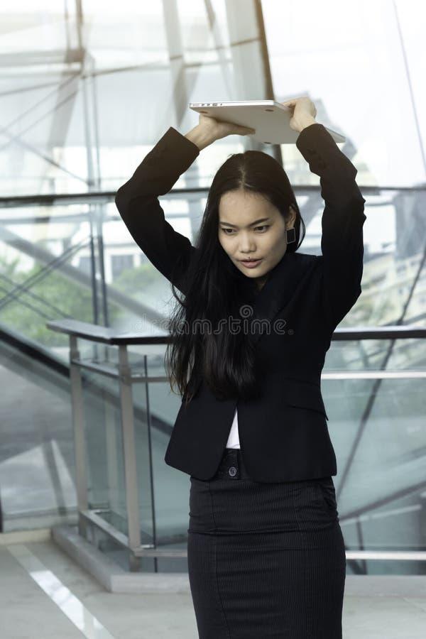 Biznes, pojęcie, ludzie, azjata, kobieta zdjęcie stock