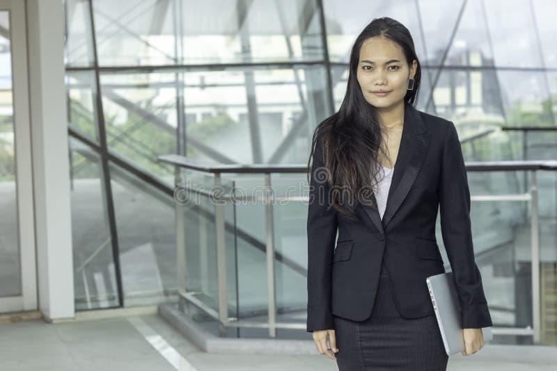 Biznes, pojęcie, ludzie, azjata, kobieta fotografia stock