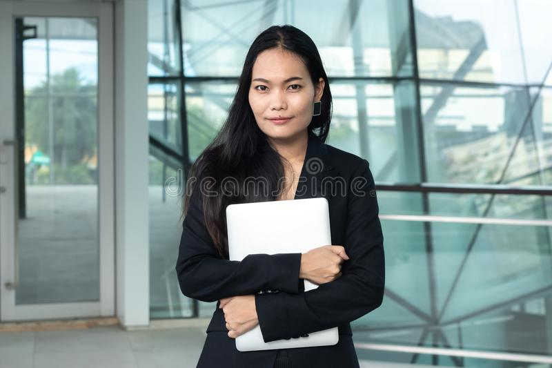 Biznes, pojęcie, ludzie, azjata, kobieta fotografia royalty free