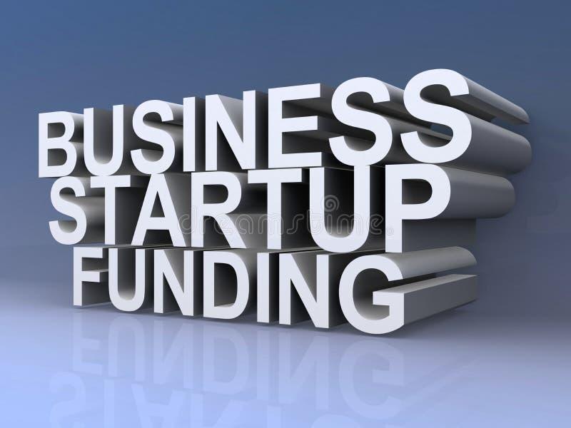 Biznes, rozpoczęcie, funduje ilustracja wektor