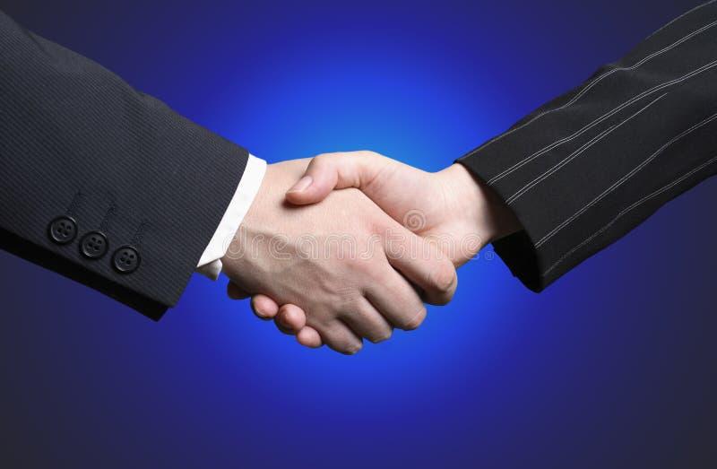 biznes shake ręce obraz stock