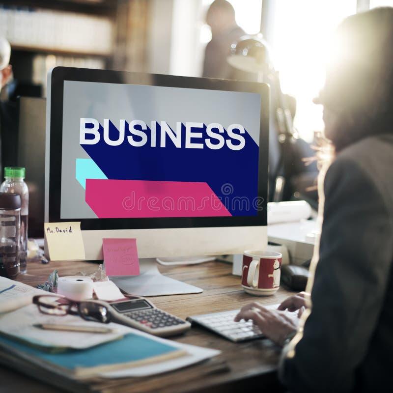 Biznes strategii zarządzania Drużynowy Marketingowy pojęcie obrazy stock
