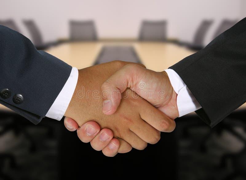 biznes uścisk dłoni obraz royalty free