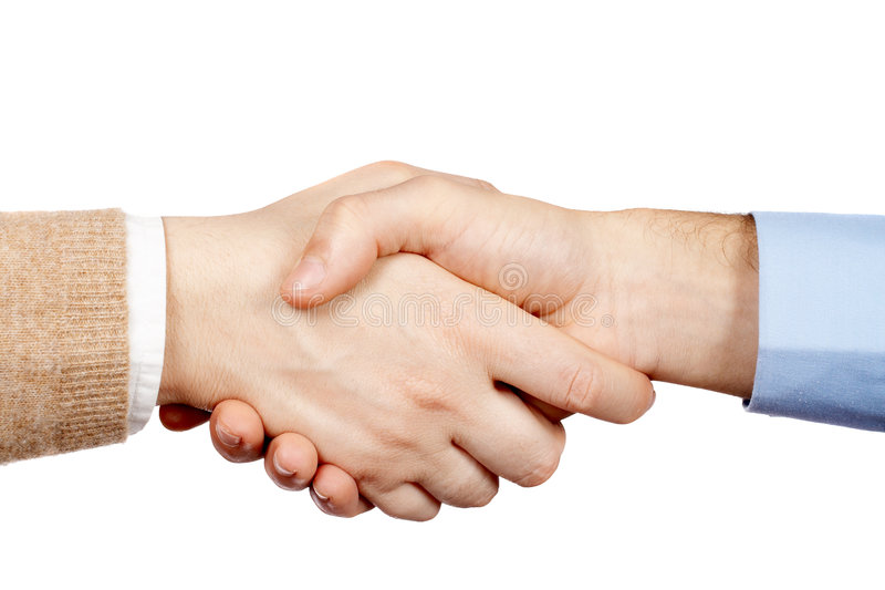 biznes uścisk dłoni obrazy royalty free