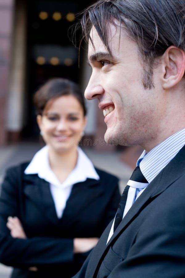 biznes uśmiech obraz royalty free