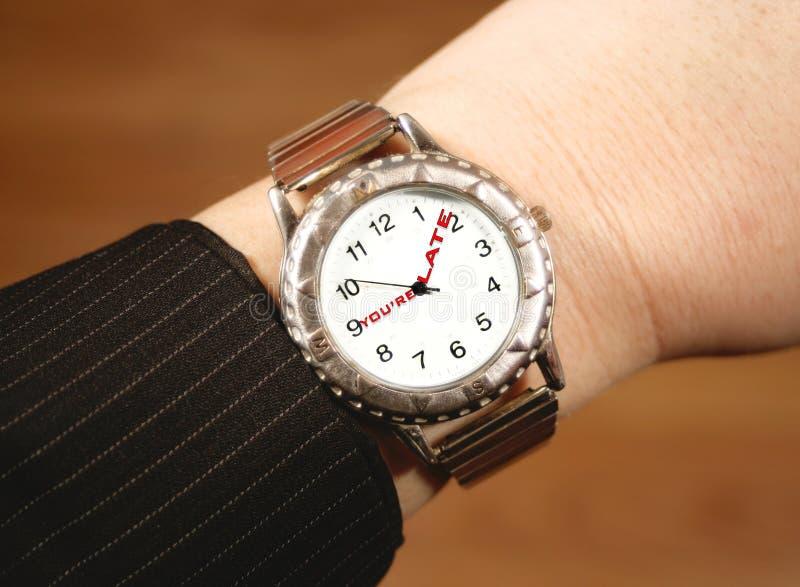 biznes zegarek zdjęcia royalty free