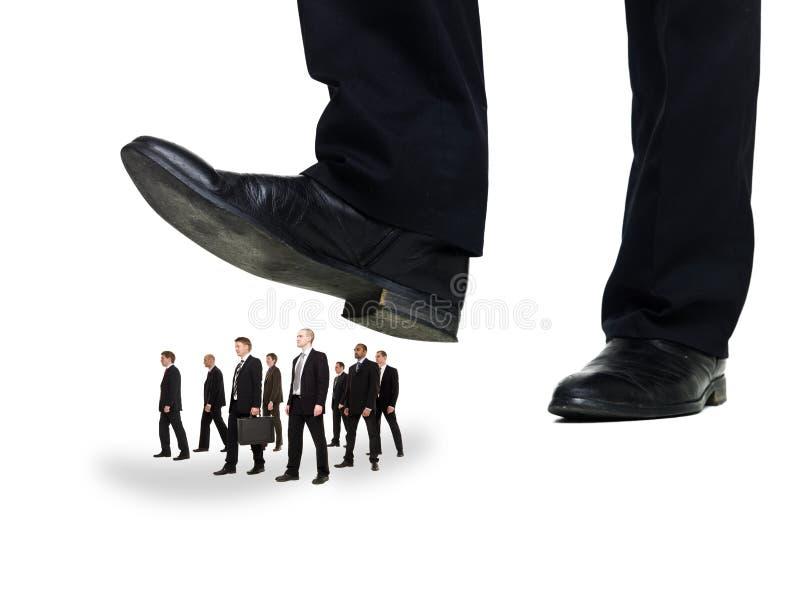 biznesmenów grupy podeszwa zdjęcie stock