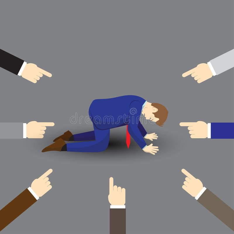 Biznesmenów Inny I royalty ilustracja