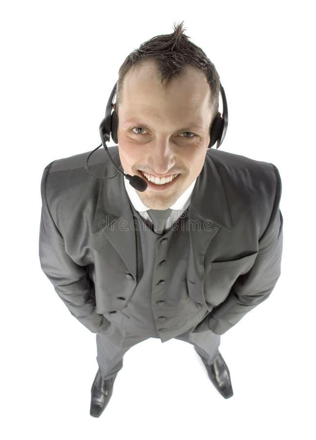 biznesmenów słuchawki obrazy royalty free