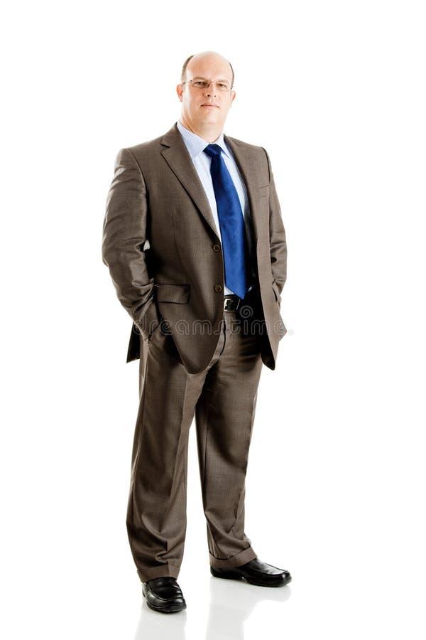 Download Biznesmen obraz stock. Obraz złożonej z facet, szczęśliwy - 13342887