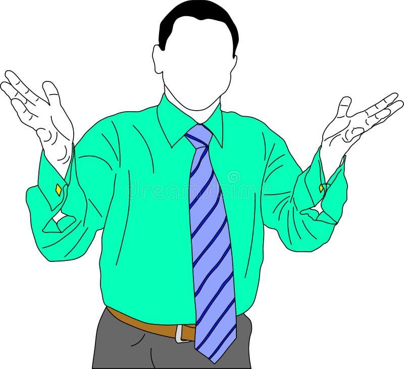 Biznesmen ilustracja wektor