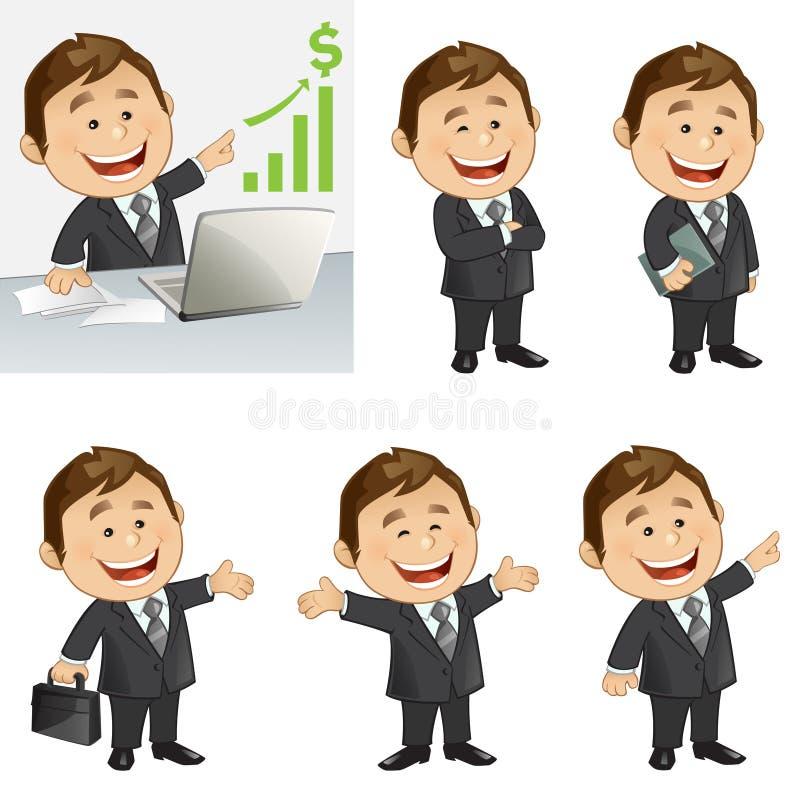 Biznesmen ilustracji
