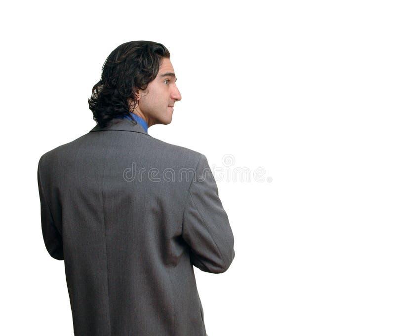 biznesmen 8 izolacji zdjęcie royalty free