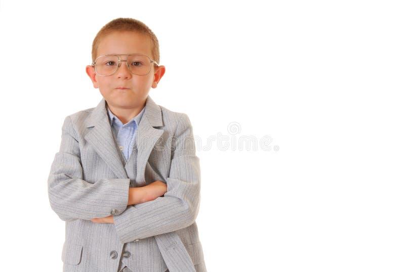 biznesmen chłopca zdjęcia stock