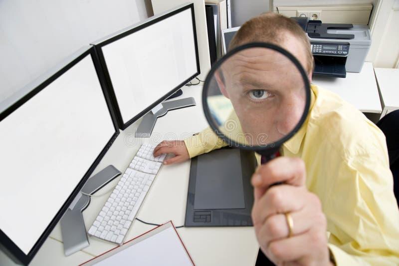 biznesmen czujny fotografia stock