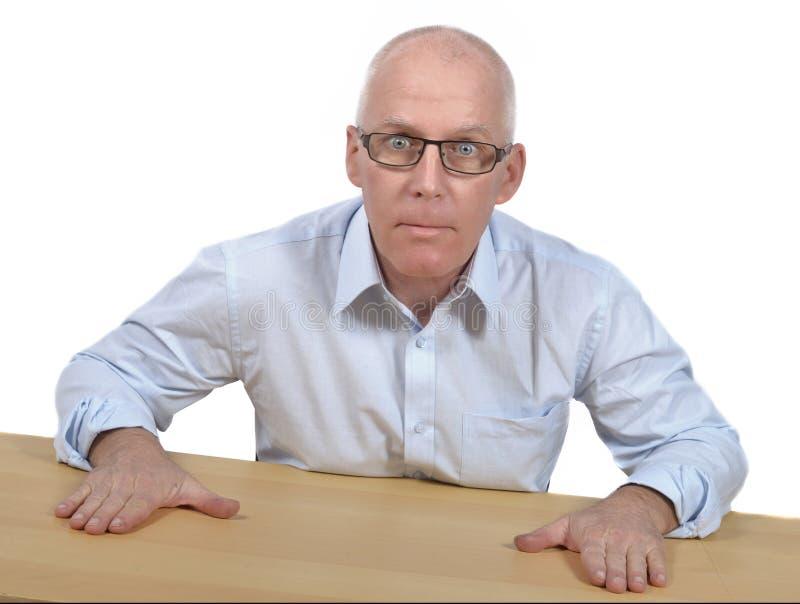 Biznesmen gniewny obrazy stock