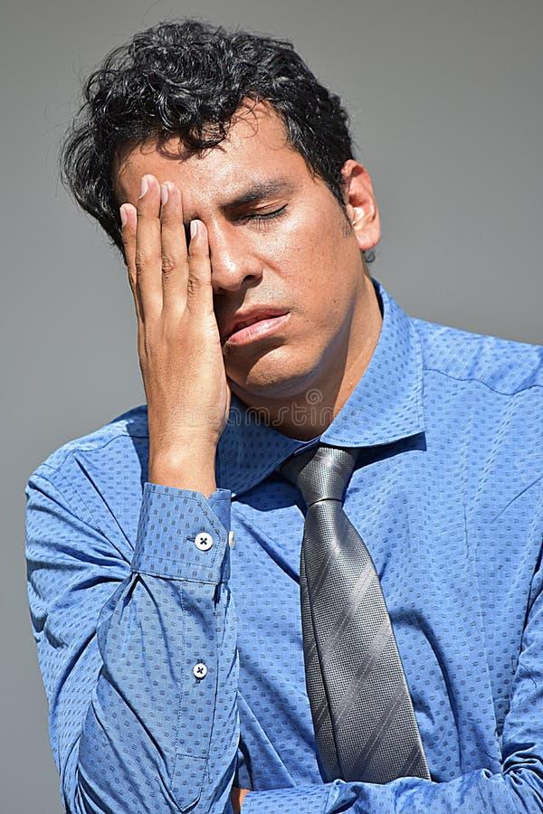 Biznesmen I niepokój zdjęcia stock