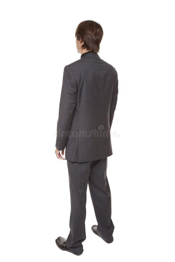 Biznesmen - obracanie zdjęcie stock