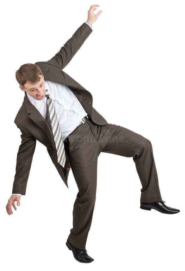 Download Biznesmen Pozuje Z Rękami Podnosić Obraz Stock - Obraz złożonej z finanse, bank: 65225197