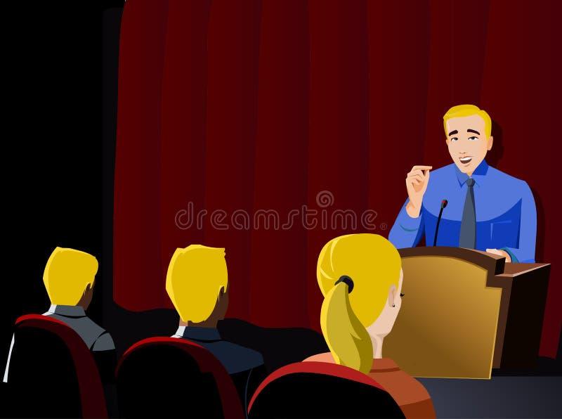 Download Biznesmen prezentacja ilustracji. Ilustracja złożonej z odosobniony - 41953522
