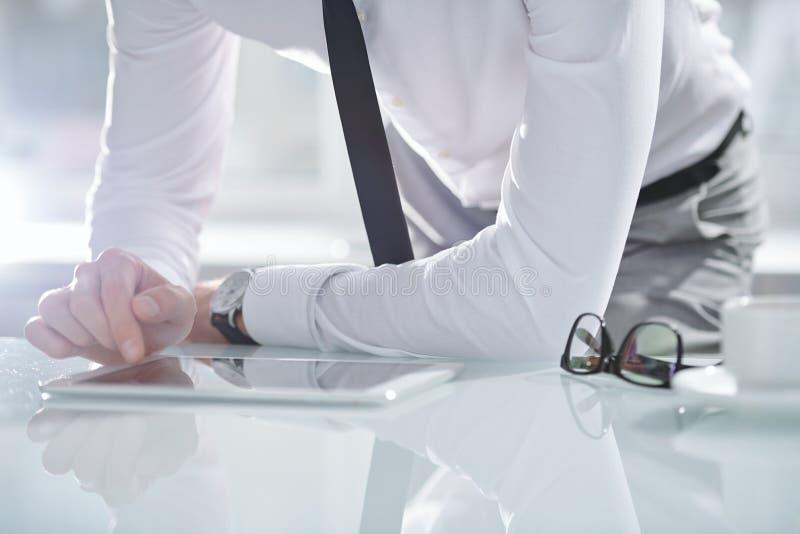 Biznesmen przy prac? zdjęcie stock