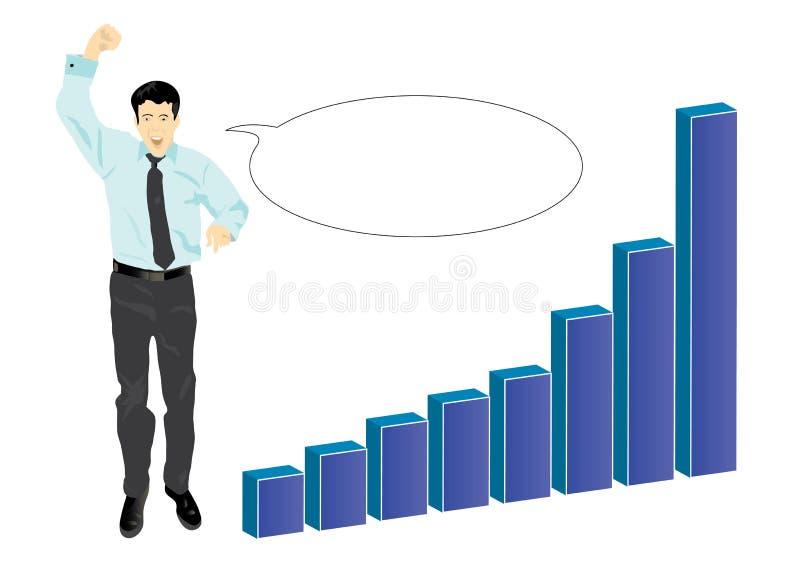 Download Biznesmen Target701_1_ Jego Sukces Ilustracja Wektor - Obraz: 18541580