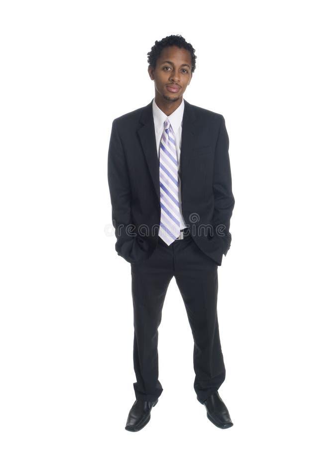 Biznesmen - ufny uśmiech fotografia stock