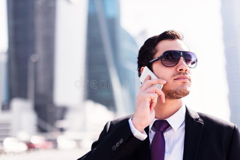 Biznesmen W Dubaj zdjęcie royalty free