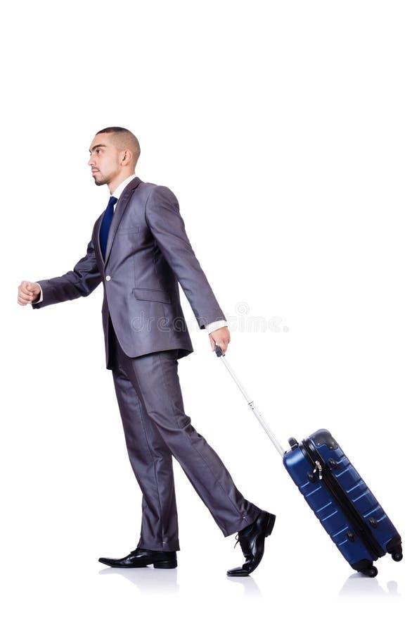 Download Biznesmen obraz stock. Obraz złożonej z mienie, bagaż - 30095299