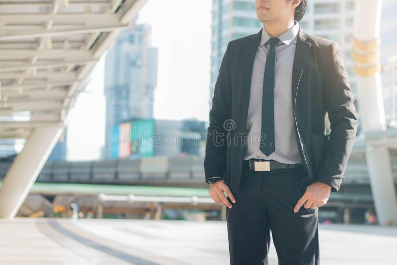 Biznesmen z nadzieją zdjęcia stock