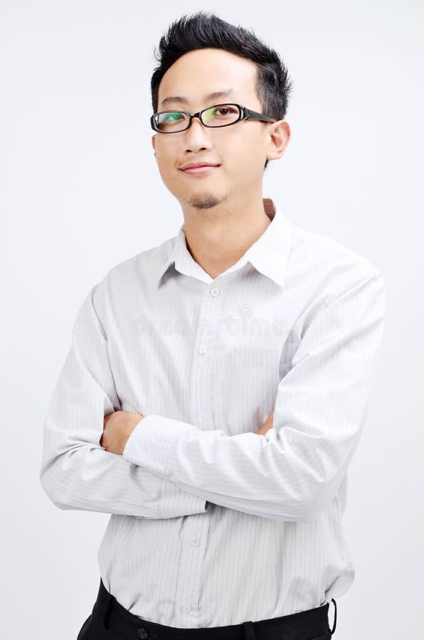biznesmena azjatykci portret zdjęcia stock