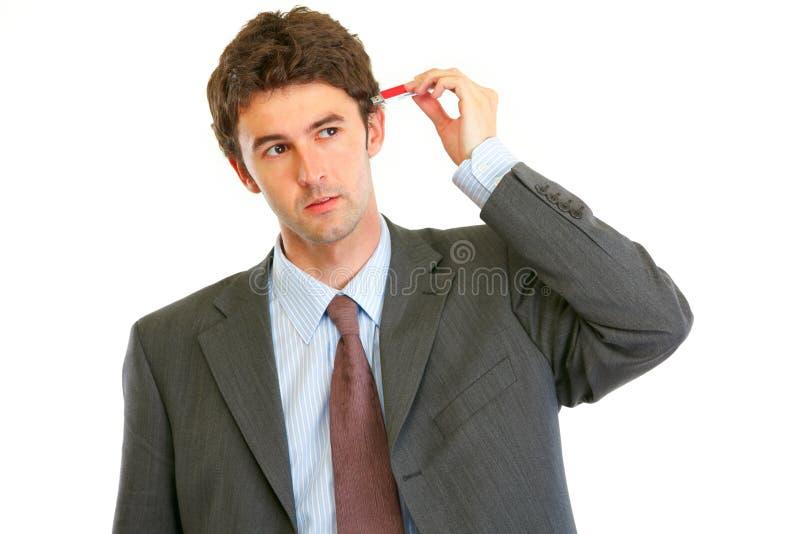 biznesmena błysku głowy prymka target1295_0_ usb fotografia royalty free