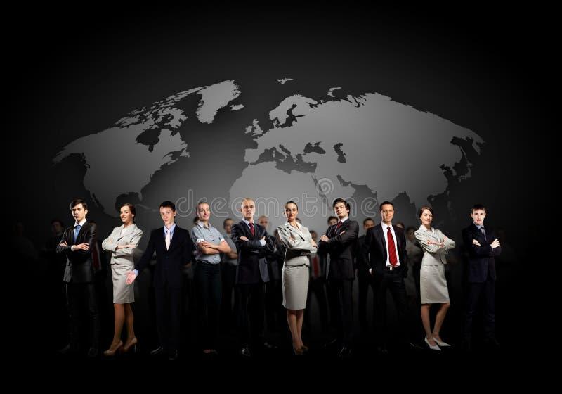 biznesmena biznesmenów grupowy ręk target2496_1_ zdjęcie stock