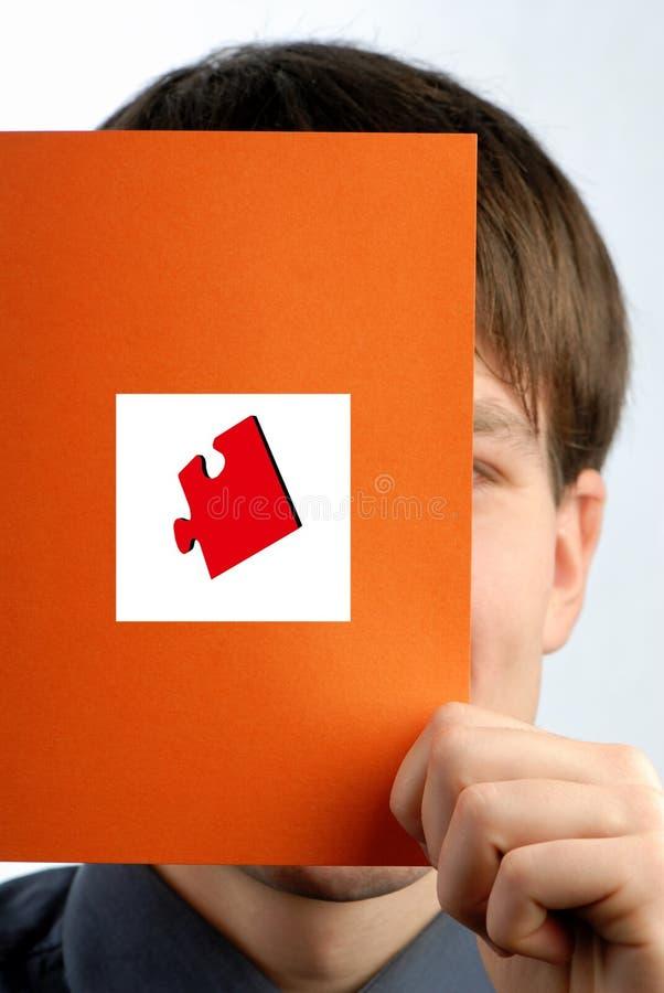 Biznesmena Chwytów Papieru Prześcieradło Obraz Stock