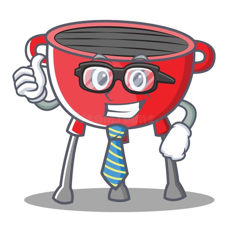 Biznesmena grilla grilla postać z kreskówki ilustracja wektor