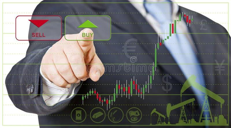 Biznesmena handlowiec obrazy stock