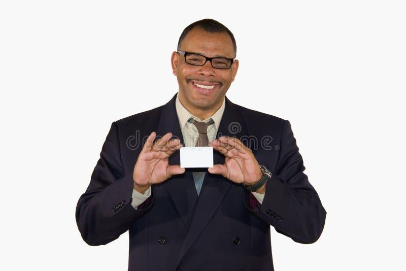 biznesmena karty dojrzały target888_0_ ja target889_0_ zdjęcie royalty free