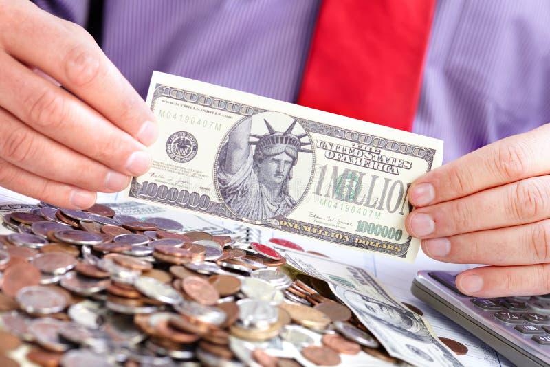 biznesmena pieniądze zdjęcie royalty free