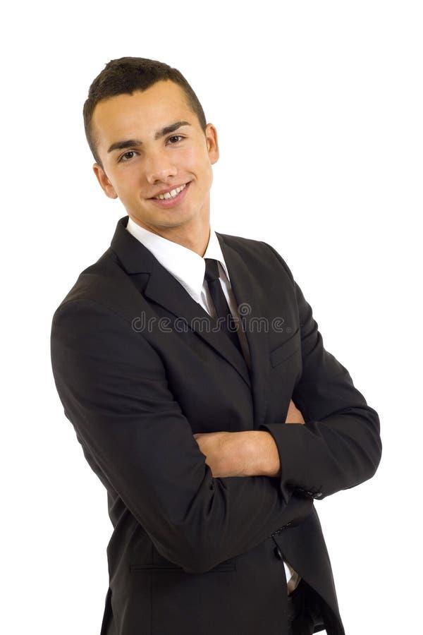 biznesmena portret życzliwy przystojny zdjęcie royalty free